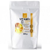 Allnature Vitamin C Premium 100% pure powder to support immunity and reduce fatigue and exhaustion, food supplement 250 g