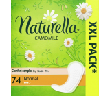 Naturella Normal intimate pads with chamomile 74 pieces