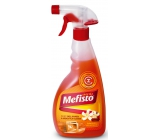 Mephisto on fireplaces and liners with red oranges sprayer 500 ml