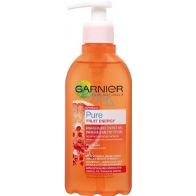 Garnier Skin Naturals Pure Fruit Energy energizing cleansing gel dispenser 200 ml