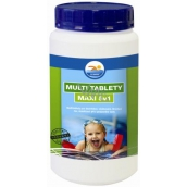 Bashed Multi tablets Maxi 5in1 preparation for water treatment in swimming pools 1 kg