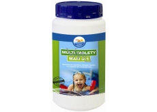 Bashed Multi tablets Maxi 5in1 product for water treatment in swimming pools 1 kg