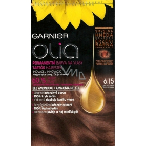 Garnier Olia hair color without ammonia 6.15 Ice light brown