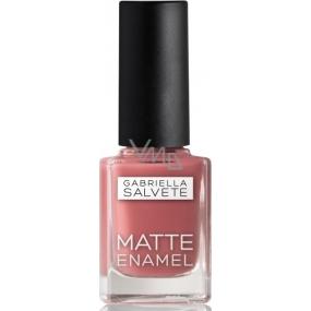 Gabriella Salvete Matte Enamel nail polish 104 Chardonnay 11 ml