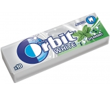 Wrigleys Orbit White Spearmint chewing gum without sugar dragees 10 pieces 14 g