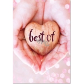 Ditipo Playing card Best Of Kristína You are best 224 x 157 mm for me