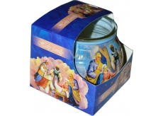 Admit Holy Family aromatic candle in glass 80 g