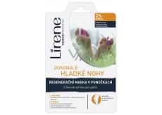 Lirene Dokonale hladké nohy 3% urea 2 fázová peeling a regenerační maska v ponožkách