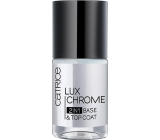 Catrice Basecoat + LuxChrome 2v1 lacquer
