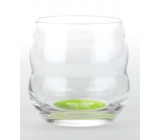 Masaru Emoto Mythos Glass I Like To Learn (Butterfly / Leaves) - Green 0.25L