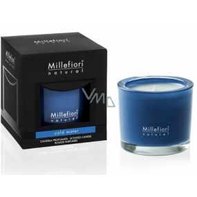Millefiori Milano Natural Cold Water Scented candle burns up to 60 hours 180 g
