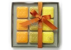 Erbario Toscano Olive Oil, Bergamot, and Verbena, Wild Tangerine Soap 9 x 30 g Luxury Cosmetic Set