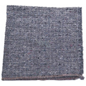 Clanax Washing rag ground woven gray 80 x 60 cm