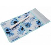 Pocket for hanging blue 43 x 24 cm 4 pockets 711
