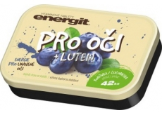 Energit For Eyes + Lutein Blueberry vitamin tablets energy for tired eyes 42 tablets