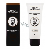 Percy Nobleman Coconut and Beard Cleansing Gel with coconut and glycerin 75 ml