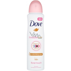Dove Invisible Care Floral Touch antiperspirant deodorant spray for women 150 ml
