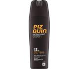 Piz Buin Ultra Light SPF15 ultra light moisturizing fluid for tanning 200 ml spray