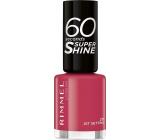 Rimmel London 60 Seconds Super Shine Nail Polish nail polish 271 Jet Setting 8 ml