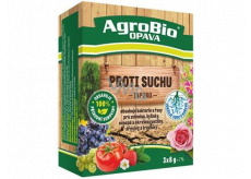 AgroBio Inporo Anti-drought contains bacteria and algae for vegetables, herbs, fruit and ornamental plants, woody plants and lawns 3 x 8 g