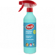 Real Universal disinfectant without alcohol, chlorine-free spray 550 g