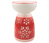 Aromalampa ceramic red with flake 16 cm