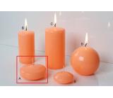 Lima Reflex phosphor orange candle floating lens 30 x 70 mm 1 piece