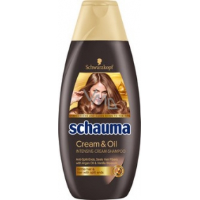 Schauma Cream & Oil Intensive Cream Shampoo 400 ml