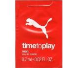 Puma Time To Play Man toaletní voda 0,7 ml, Vialka