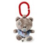 Me to You Tiny Tatty Teddy Teddy Bear in a blue 10 cm t-shirt