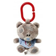 Me to You Tiny Tatty Teddy Teddy bear whistle in blue T-shirt 10 cm