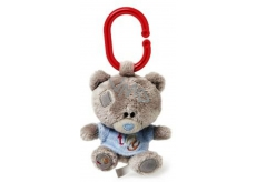 Me to You Tiny Tatty Teddy Teddy bear whistle in a blue T-shirt 10 cm