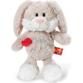 Nici Love You Rabbit Plush toy the finest plush 25 cm