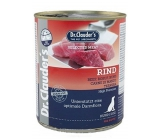 Dr. Clauders Beef complete super premium food for adult dogs contains probiotics - substances for good digestion 800 g