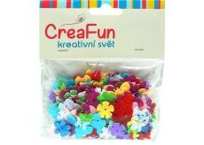 CreaFun Confetti Butterfly + Flower 14 g