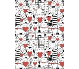 Albi Document case Cats with hearts A6 - 15.5 x 11.2 cm