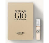 Giorgio Armani Acqua di Gio Absolu Eau de Parfum for Men 1.2 ml with spray, Vial