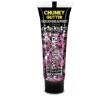 Glitter on body UV Chunky Holographic - purple pink
