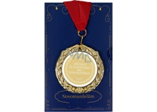 Albi Greeting Card W - Greeting Card with Medal - New Honey