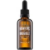 Hawkins & Brimble Elemi & Ginseng Beard Oil nourishing beard and mustache oil 50 ml