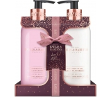 Baylis & Harding Midnight Plum and Wild Blackberry liquid hand soap 300 ml + hand and body lotion 300 ml, cosmetic set