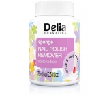 Delia Cosmetics Acetone-free nail polish remover with a 75 ml sponge
