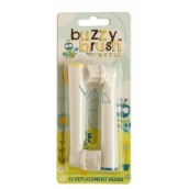 Jack N Jill BIO Buzzy Brush Extra Soft Replacement Head for Electric Toothbrush Buzzy Brush 2 Pieces