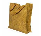 Albi Eco bag made of foldable washable paper - yellow 37 cm x 37 cm x 9.5 cm