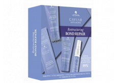 Alterna Caviar Restructuring Bond Repair Regenerating Shampoo for Damaged Hair 40 ml + Conditioner 40 ml + Leave-in Heat Protection Spray 25 ml + 3-in-1 Sealing Serum 7ml Trial Kit set