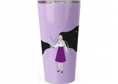 Albi Design stainless steel mug Girl 400 ml