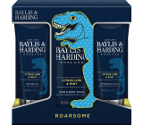 Baylis & Harding Men Citrus, Lime and Mint cleansing gel for body and hair 300 ml + aftershave balm 200 ml + shower gel 200 ml, cosmetic set