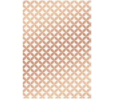 Ditipo Gift wrapping paper 70 x 100 cm White copper ornaments 2 sheets
