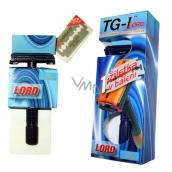 Bartoň TG-I Lord holící žiletkový strojek pro muže 1 kus