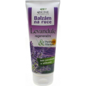 Bione Cosmetics Lavender Regenerating Hand Balm 200 ml